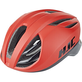 HJC Atara Road Casque, matt/gloss red